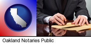 a notary public in Oakland, CA