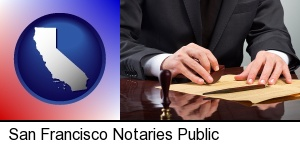 a notary public in San Francisco, CA